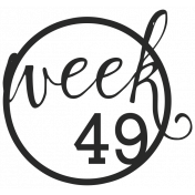 52 Weeks Stamps- Stamp 49