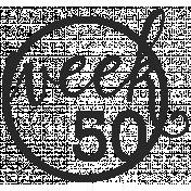 52 Weeks Stamps- Stamp 50