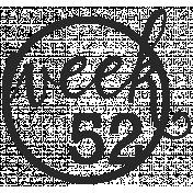 52 Weeks Stamps- Stamp 52