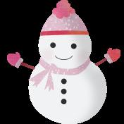 Snow Beautiful (Kit)- snowman 01