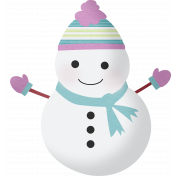 Snow Beautiful (Kit)- snowman 02