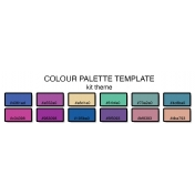 Colour Palette Template (12 colours)