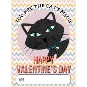 Everyday Is Caturday (Valentine Card 02)