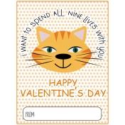 Everyday Is Caturday (Valentine Card 05)
