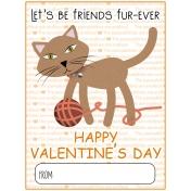 Everyday Is Caturday (Valentine Card)
