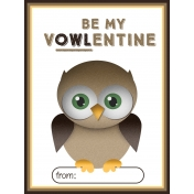 Owl Valentine Card 04
