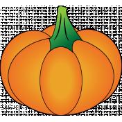 Sticker pumpkin