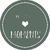 Happy Moments Label