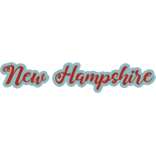 New Hampshire Word Art