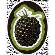 Blackberry Sticker