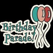 Corona virus - Covid 19 birthday parade word art