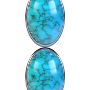 Native Dreams Turquoise Border
