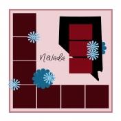 Layout Template: USA Map – Nevada
