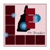 Layout Template: USA Map – New Hampshire