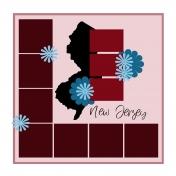 Layout Template: USA Map – New Jersey