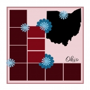 Layout Template: USA Map – Ohio