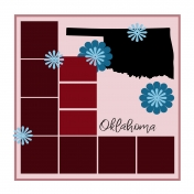 Layout Template: USA Map – Oklahoma