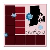 Layout Template: USA Map – Rhode Island