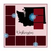 Layout Template: USA Map – Washington