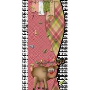 Reindeer Page Border