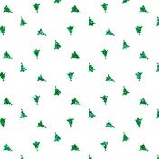 Glitter Tree Paper