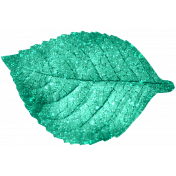 Glitter Leaf