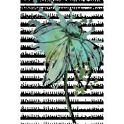 hand drawn art flower