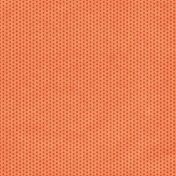 Orange with red dots