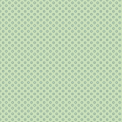 Light Green with Blue Dots
