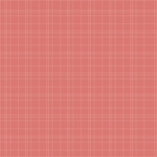 Dull Red with Gingham Stitch