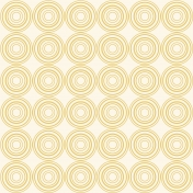 Dragonflies Yellow Circles on Ivory