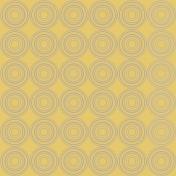 Dragonflies Gray Circles on Mustard