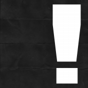 Exclamation Cut Out
