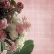Vintage Rose Grunge