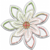Shabby Chic Flower