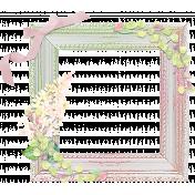 Shabby Chic Glitter Frame (UPDATED)