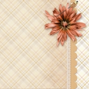 Plaid and Lace Quickpage