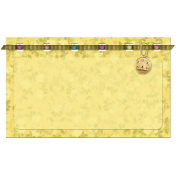 Yellow Mat and Charm