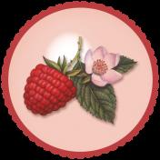 Berry Garden Glass Brad 1