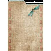Topaz 4X6 Journal Card 4