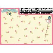 Index Card Pink Border