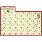 Index Card Red Border