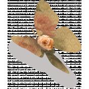 Rebel Rose Butterfly In Flight