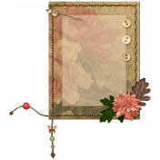 Stitched Journal Mat