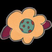 Bohemian Breeze- Paper Flower Doodle 01