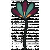 Bohemian Breeze- Paper Flower Doodle 03