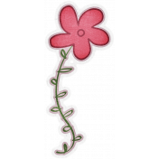 Art Of Everyday- Flower Sticker 01