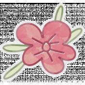 Art Of Everyday- Flower Sticker 03