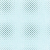 Our House Collab- Paper- Light Teal With Polkadots