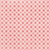 Our House Collab- Red and Pink Geometric Paper